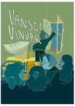 Bidrag till Vänstervindar illustrerad av Arwen Meereboer.