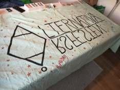 Årsfest - bannern är så gott som färdig